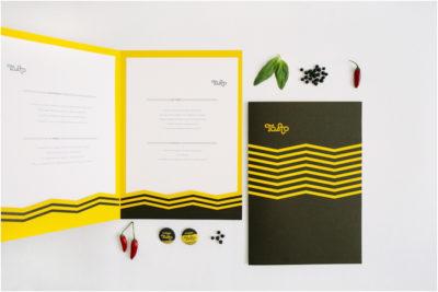 Restaurant Menu Design Tosto Bistrot