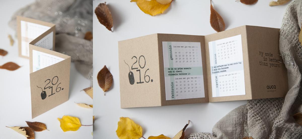 Fabuleux Auca Creative Shop / Agende, calendari, quaderni handmade Natale  UC09