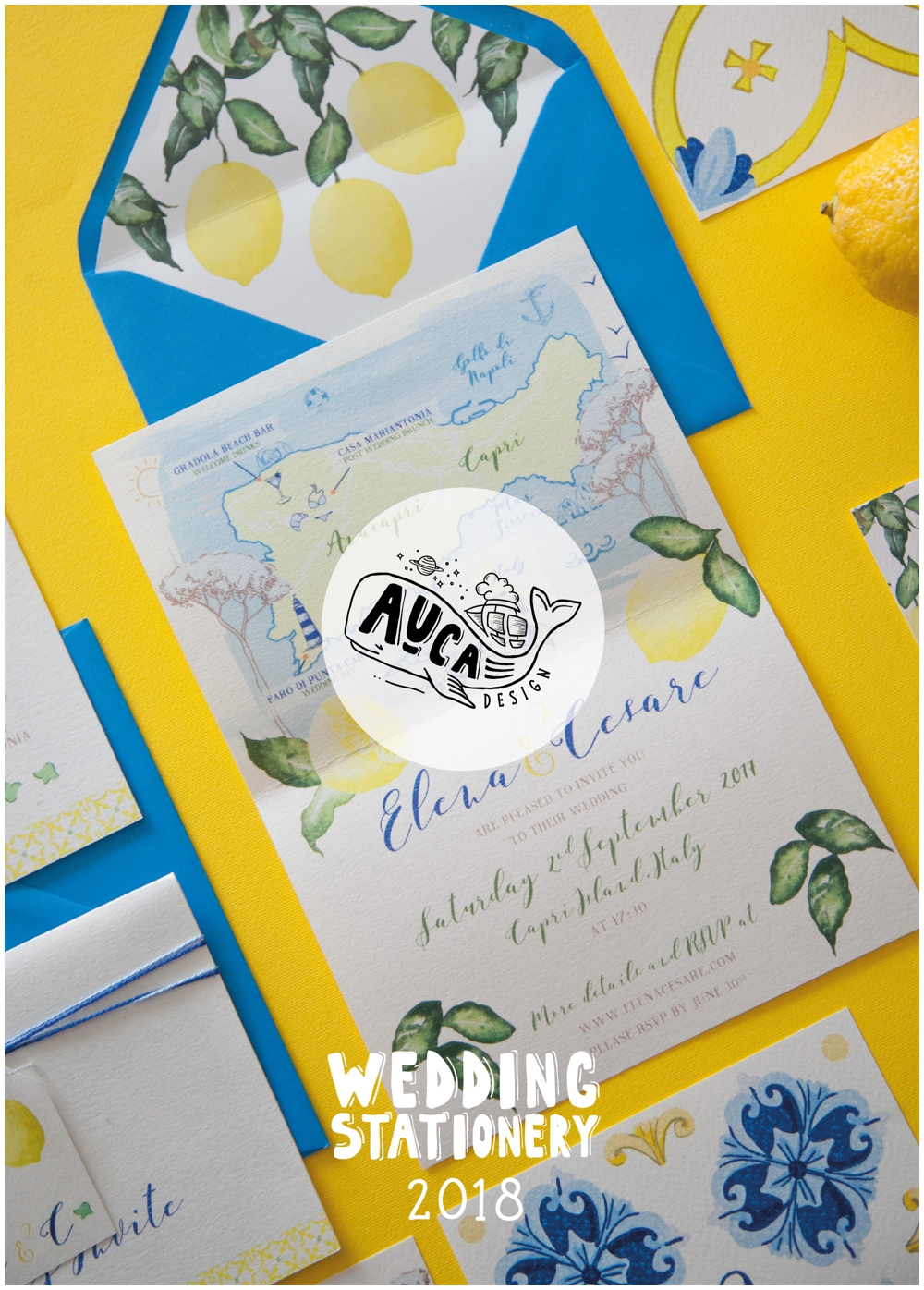 brochure Auca Design wedding